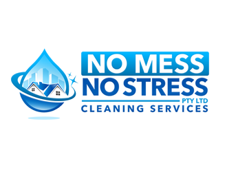 No Mess No Stress Ptyltd logo design
