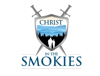 Christ in the Smokies logo design