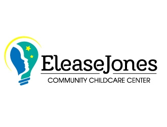 Elease Jones Community Childcare Center logo design