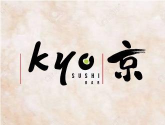 Kyo Sushi logo design