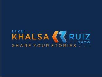 Name: Whos here with Khalsa & Ruiz.   Tag line: Hoosiers Inspiring Hoosiers by Sharing Stories   logo design