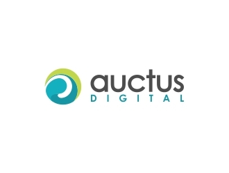 Auctus Digital logo design