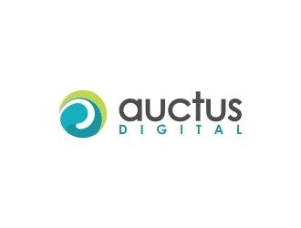 Auctus Digital logo design