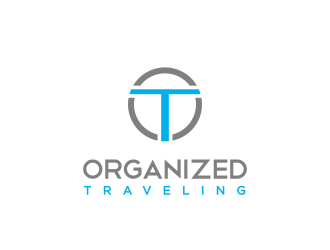 Organized Traveling  logo design