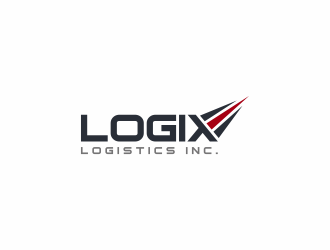 Logix Logistics Inc. logo design