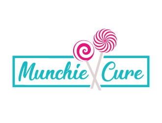 Munchie Cure logo design