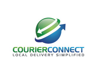 Courier Connect logo design