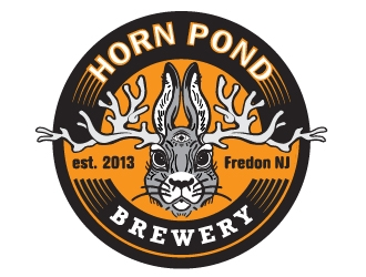 Horn Pond Brewery logo design