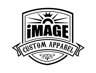 Image Custom Apparel logo design