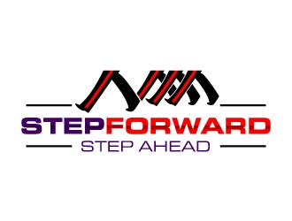 Step Forward logo design