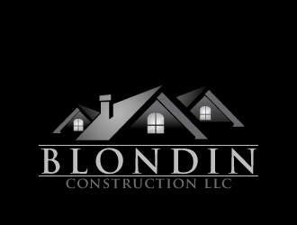Blondin Construction LLC logo design