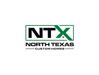 North Texas Custom Homes  logo design