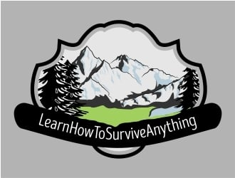 LearnHowToSurviveAnything.com logo design