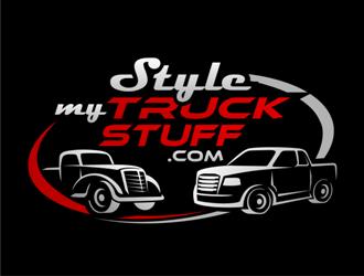 stylemytruckstuff.com logo design
