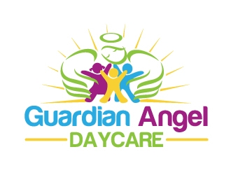 Guardian Angel Daycare logo design