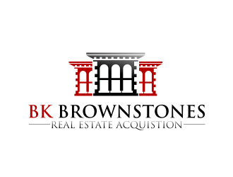 BK Brownstones logo design