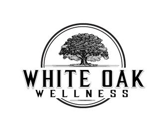 White Oak Wellness Weight Loss & Anti-Agin logo design