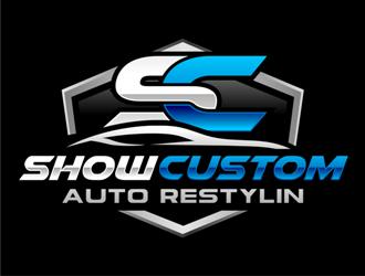 Show Custom Auto Restylin Logo Design 48hourslogo Com