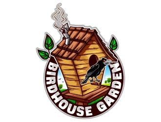 Birdhouse Garden  logo design