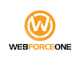 Web Force One logo design