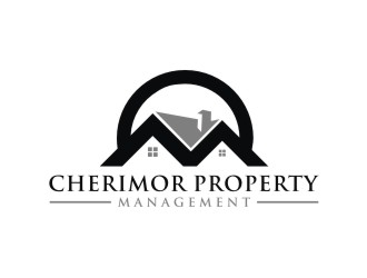 Cherimor Property Management  logo design