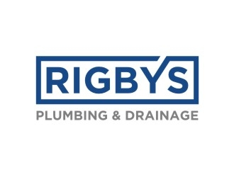 Rigbys plumbing & drainage logo design