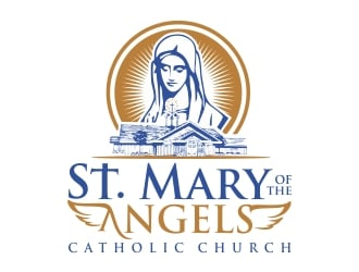 St. Mary of the Angels Catholic Church logo design