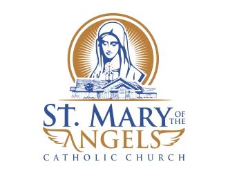 St. Mary of the Angels Catholic Church logo design