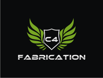 C4 Fabrication logo design