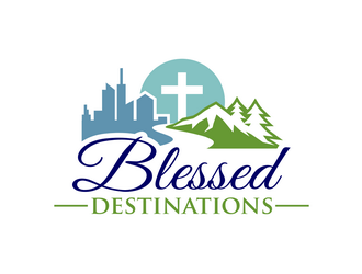 Blessed Destinations logo design