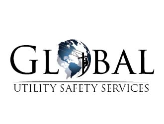 Global Utility Safety Services logo design