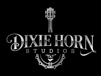 Dixie Horn Studios logo design