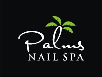 Palms Nail Spa logo design