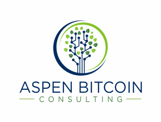 Aspen Bitcoin Consulting logo design