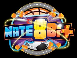 Nate8Bit logo design