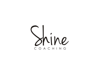 Shine Coaching logo design