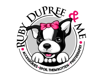 Ruby DuPree and Me  logo design