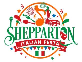 SHEPPARTON ITALIAN FESTA  logo design