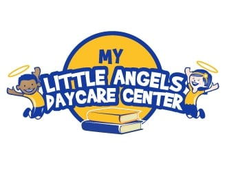 My Little Angels Daycare Center logo design
