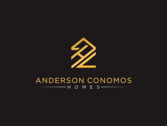 Anderson Conomos Homes logo design