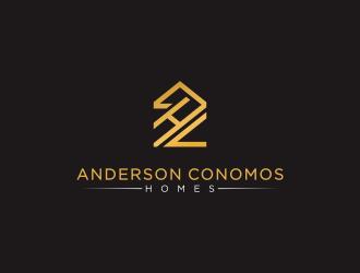 Anderson Conomos Homes logo design