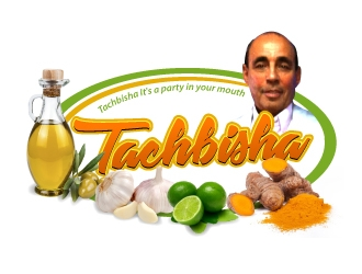 Tachbisha logo design