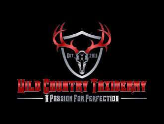 Wild Country Taxidermy logo design