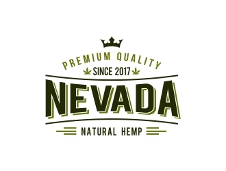 NEVADA NATURAL HEMP logo design