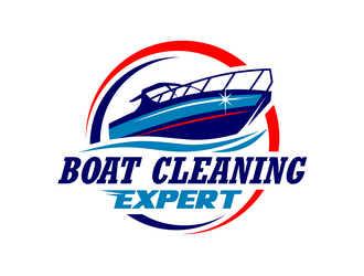 Boat Cleaning Expert logo design