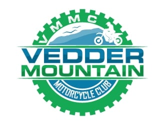 Vedder Mountain Motorcycle Club logo design