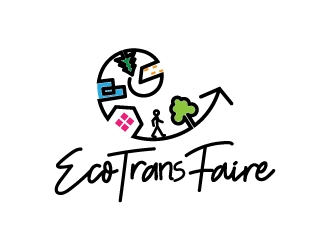 Ecotransfaire logo design