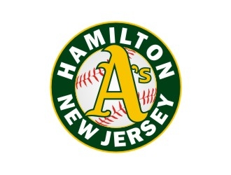 Hamilton As Baseball Team logo design