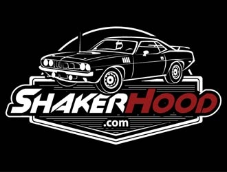 ShakerHood.com logo design