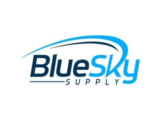 BlueSky Supply logo design